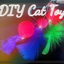 """""""Tickle Tinkle"""" Feather Cat Pounce Toy"""