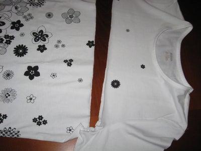 Step 2: Cutting the Tshirt
