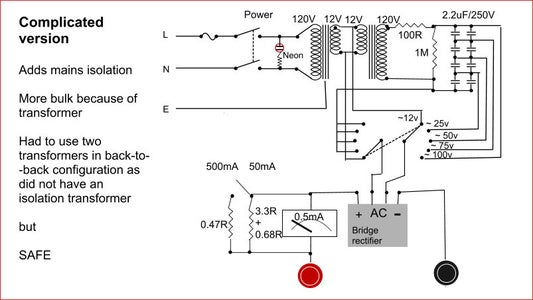 Power Supply With Passive Electronic Components Only (no Transistors, ICs, Regulator Chips!)