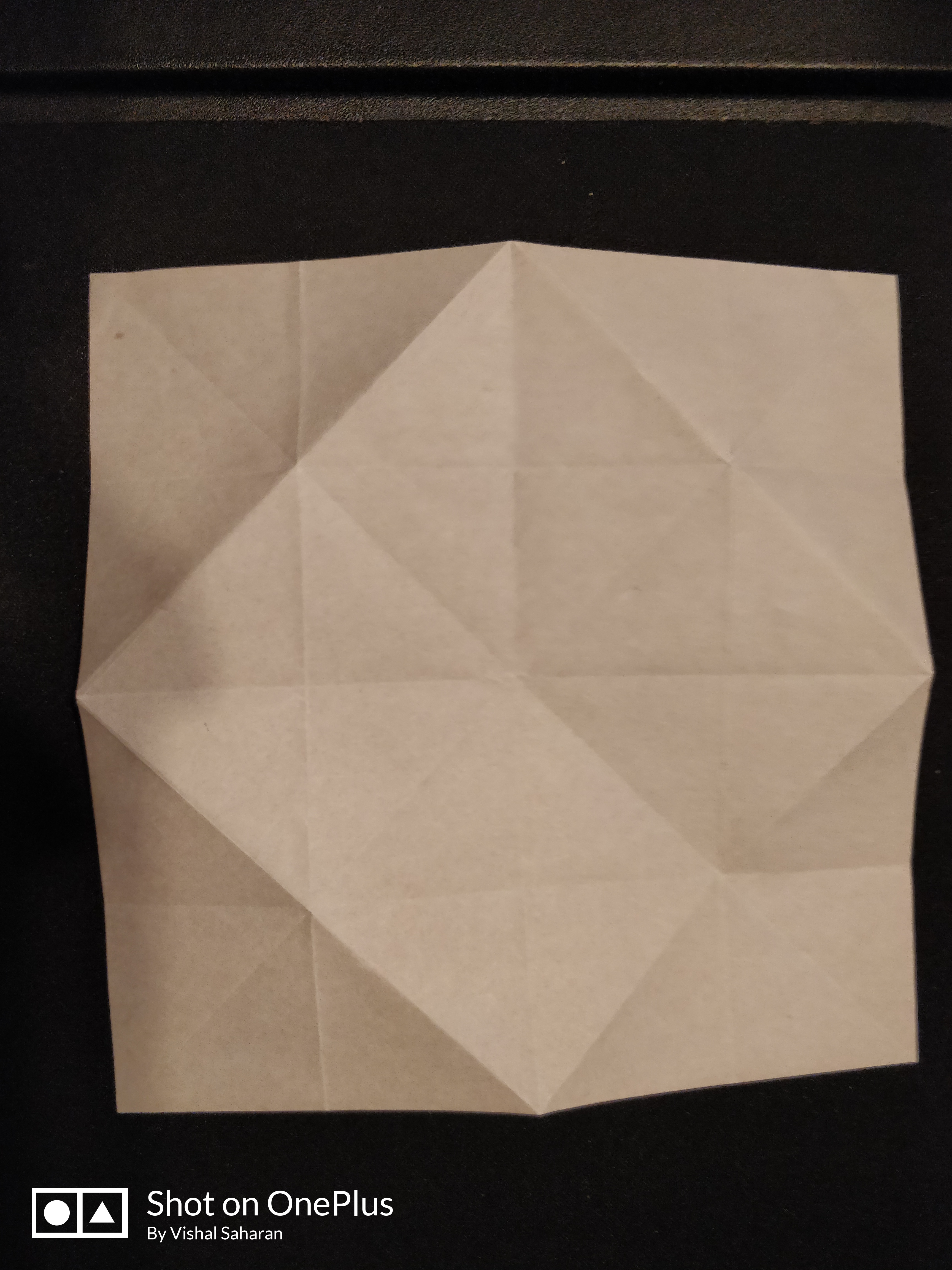 Picture of Turn the Paper to the White Color Side.