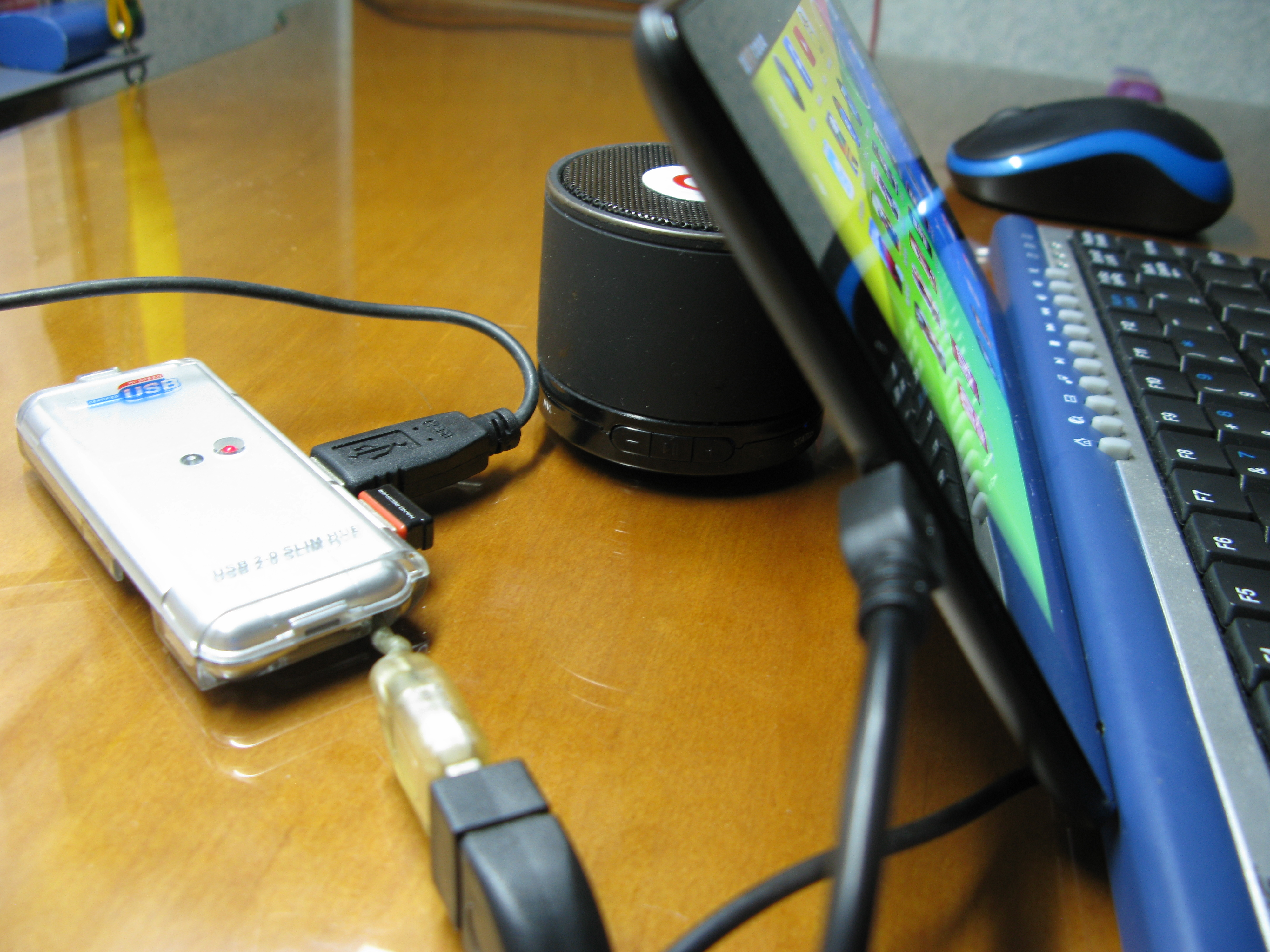 Picture of Improvised Tablet Stand