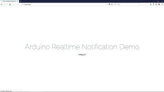 Realtime Event Notifications Using NodeMCU (Arduino), Google Firebase and Laravel