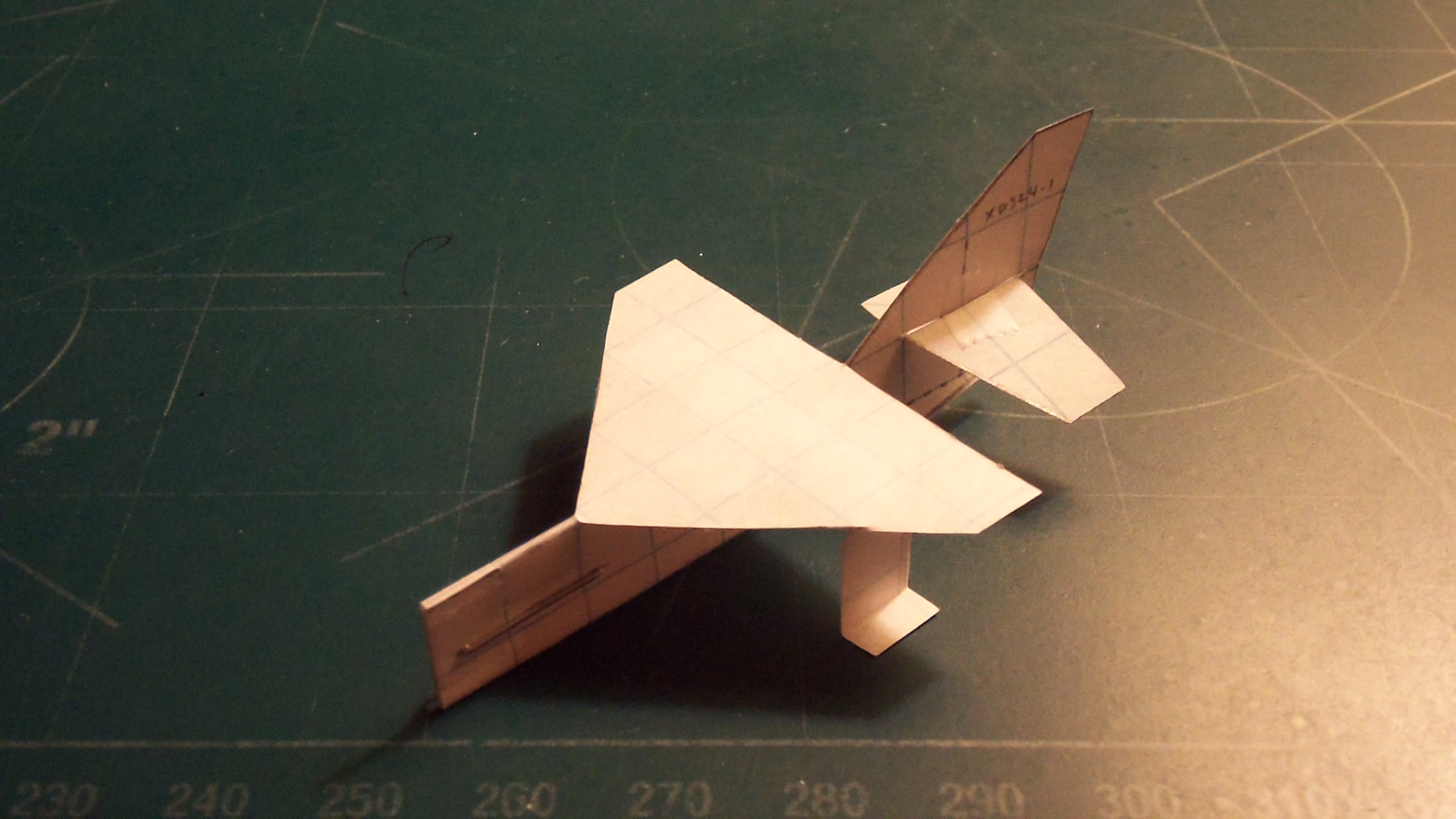 Picture of How to Make the StratoStinger Paper Airplane