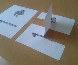 Impossible paper trick
