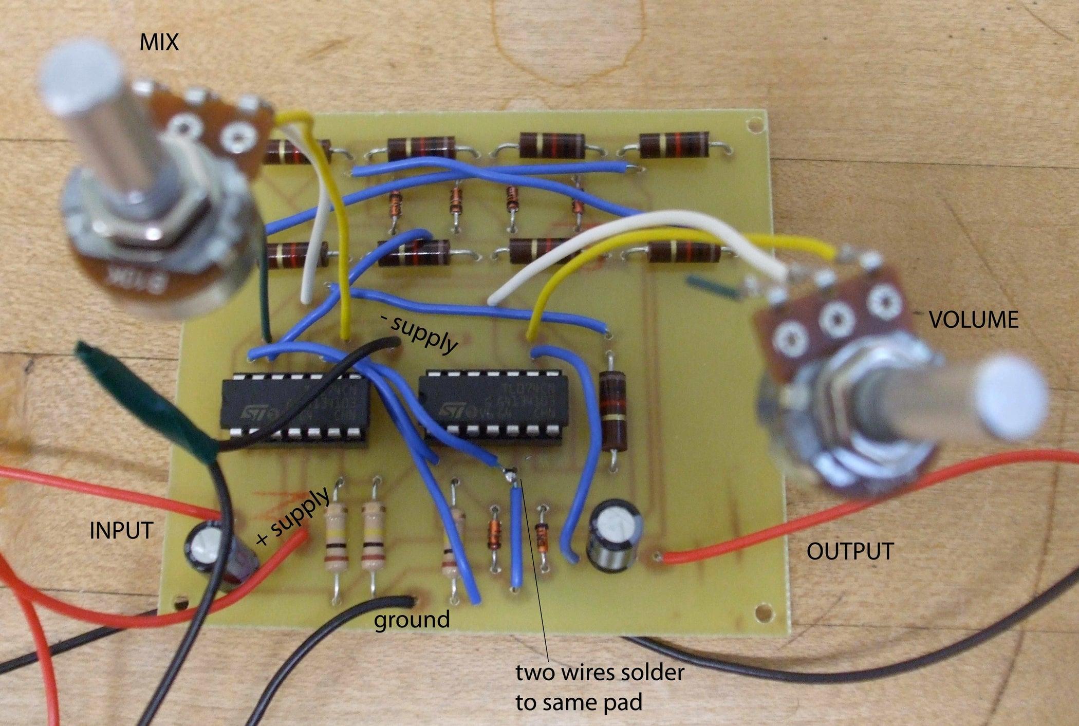 Distortion Of Doom For The Bass 5 Steps Falstad Circuit Simulation Ctrlclick Class D Amplifier