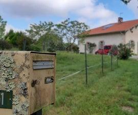 Boîte Aux Lettres Connectée Solaire