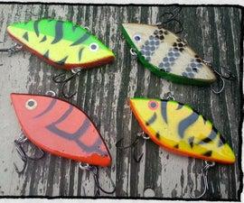 DIY Fishing Lure - Lipless Crankbait