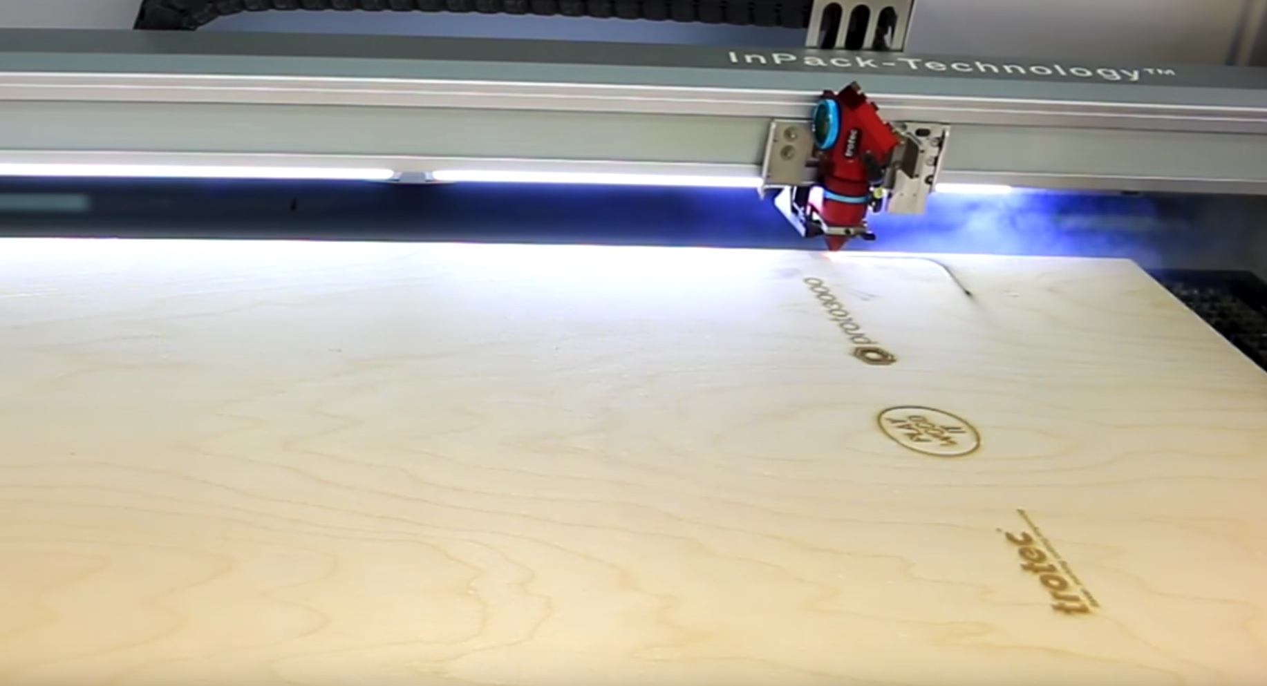 Picture of Laser Cutting the Wood