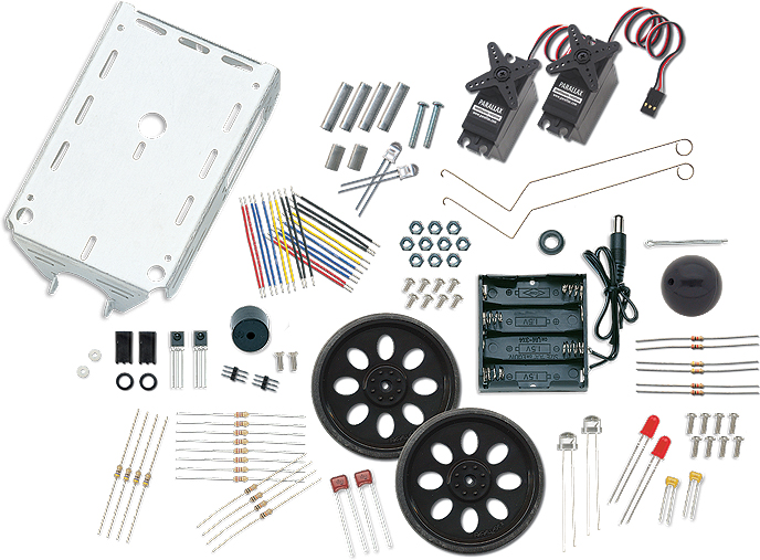 Picture of Components Needed