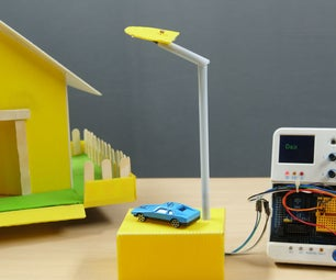 Automatic Street Light Using LDR or the Light Sensor