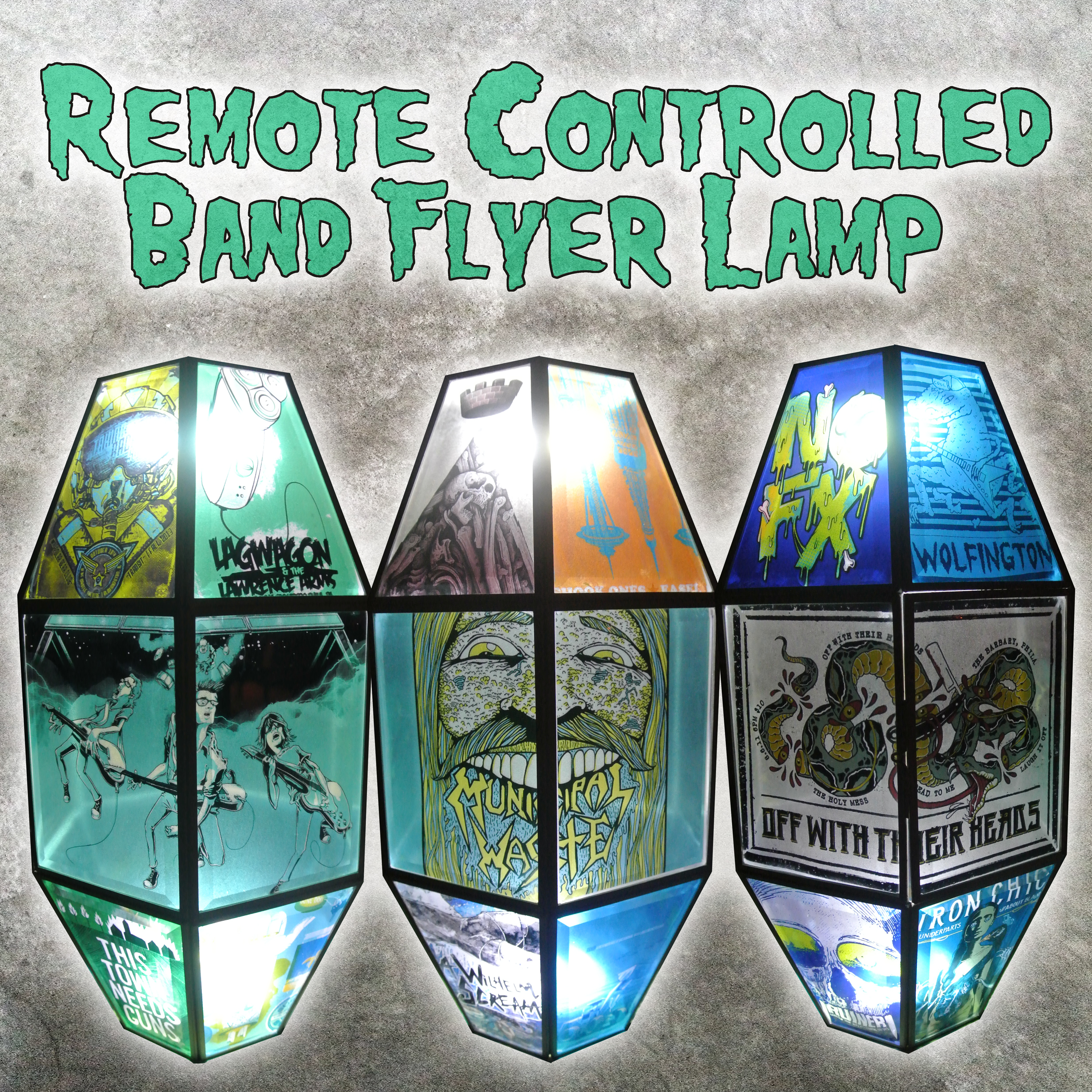 Picture of Remote Controlled Band Flyer Lamp