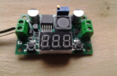 How to Adjust Output-voltage on a Dc-dc Step-down Power Supply Converter