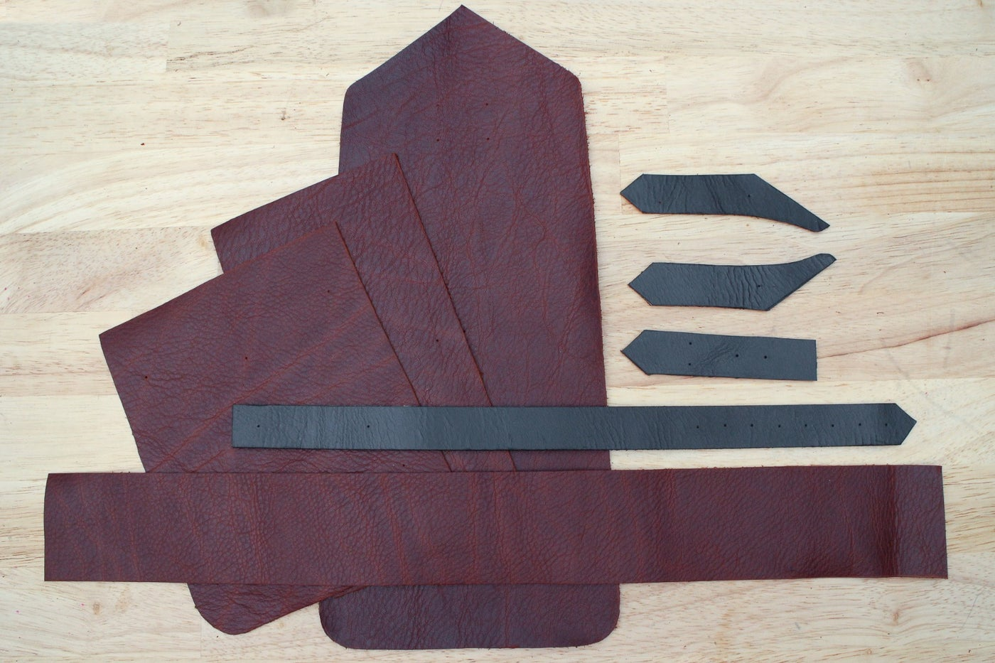 Cut Out Your Pattern in Leather