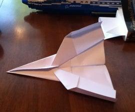 make a cool paper plane!