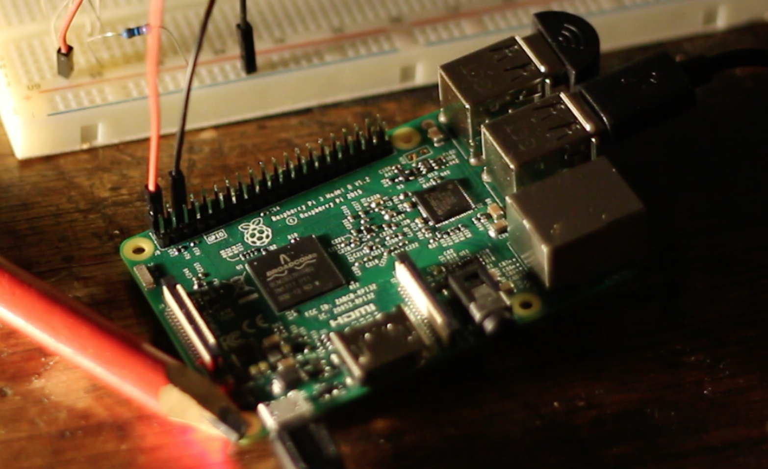Picture of Setup the Raspberry Pi