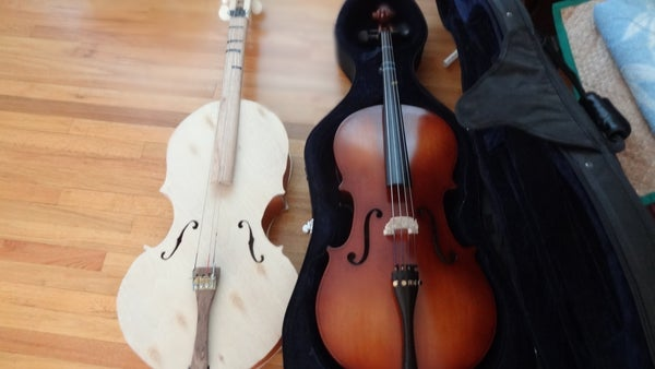 10 Easy Steps to Make Your Own Cello!
