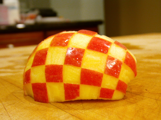 Picture of Checkerboard Apple