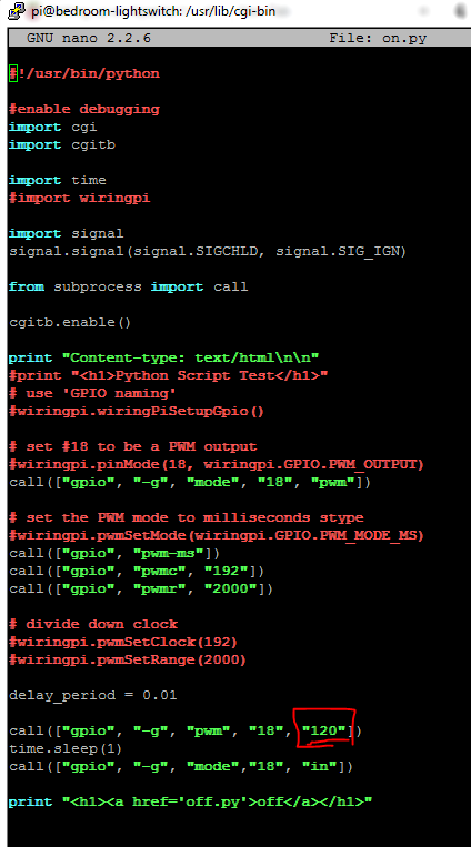 Picture of Step 6: Configure Scripts