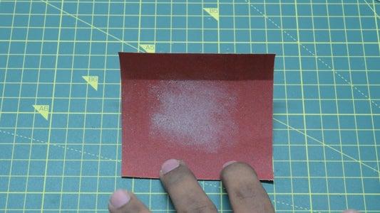 Restoring / Reusing Sand Paper