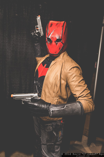 "Picture of How to Make a Batman: ""Red Hood"" Costume- Version 3.0"