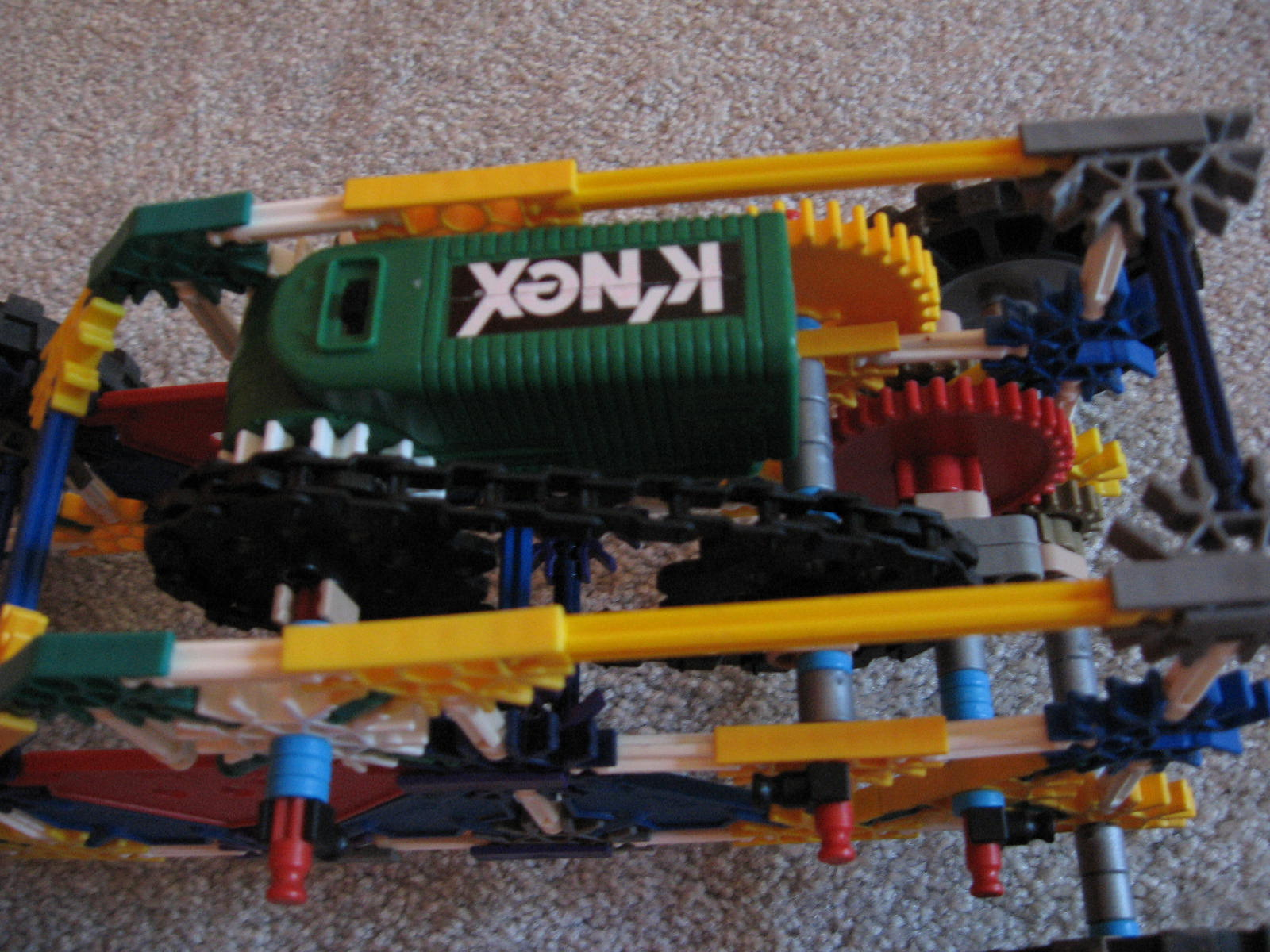 Picture of Motorized Knex Truck