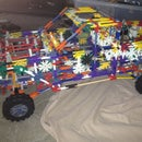 Knex Large Pick up Truck with Suspension