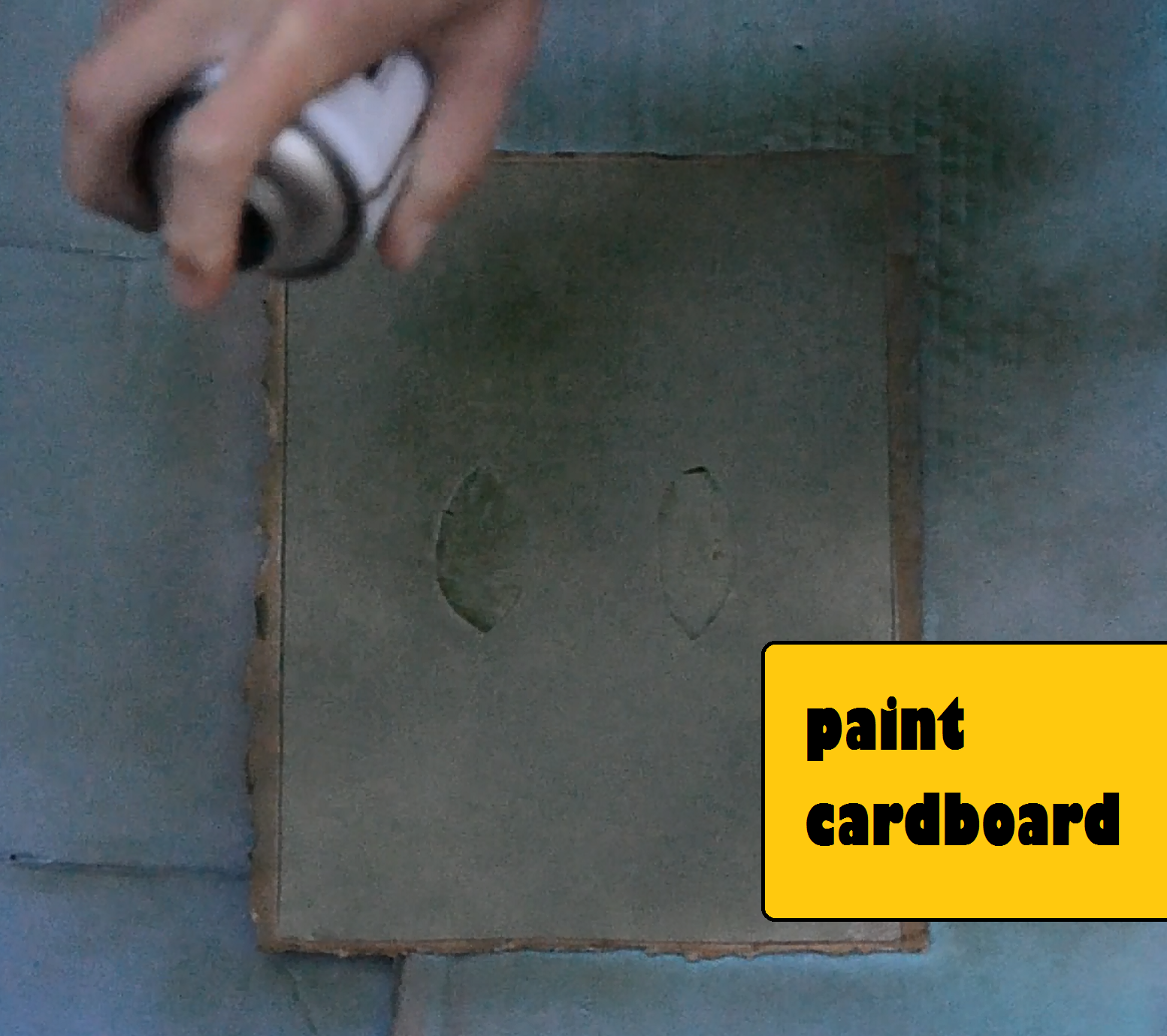 Picture of Paint Cardboard