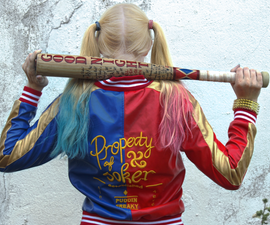 Harley Quinn Baseball Bat Pepper Mill