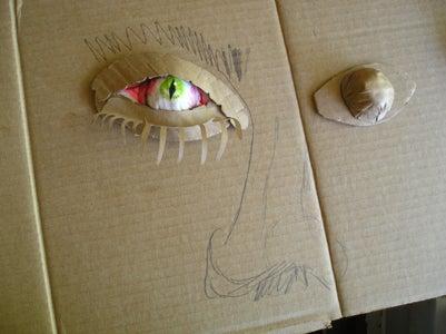 How to Make a Melon Baller Eyeball!