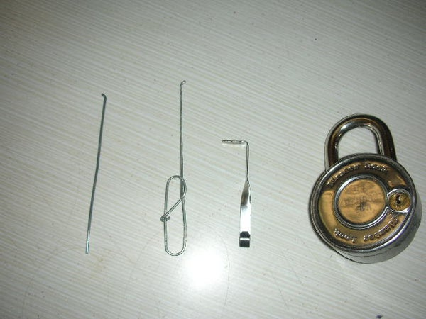 The Only REAL Paperclip Lockpick!