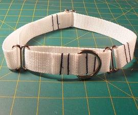How to Make an Adjustable Martingale Dog Collar
