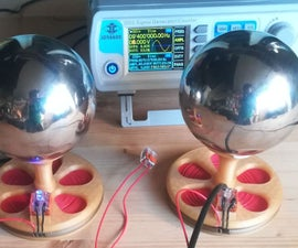 Energy Transfer With Two Tesla Coils