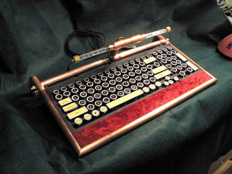 Miss Betsy S Steampunk Keyboard 16 Steps With Pictures Instructables