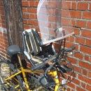 How to attach a Bobike Mini Windscreen to a Mountain Bike's handlebars