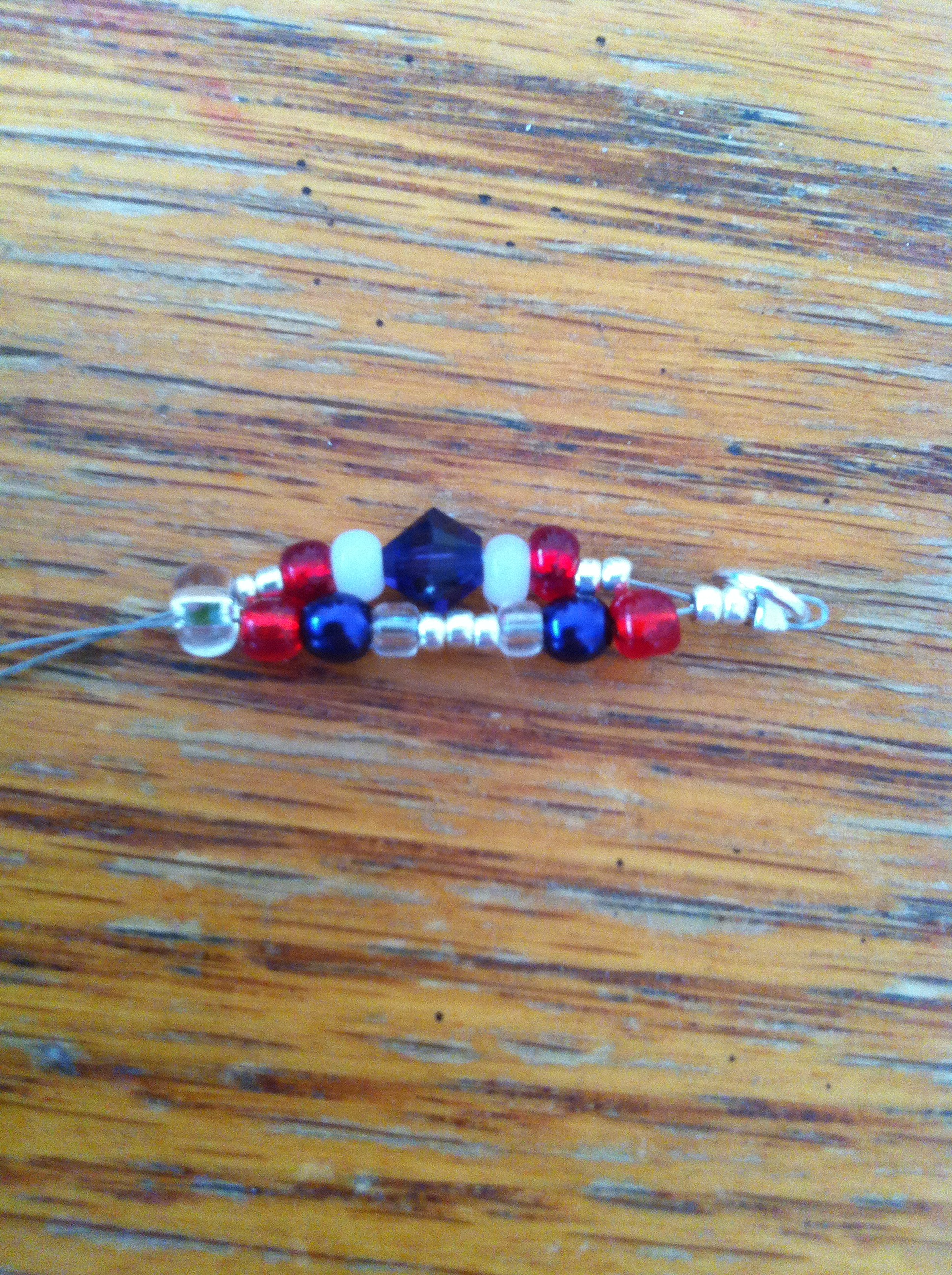 Picture of Stringing First Beads