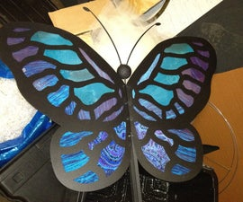Giant Butterfly Puppets