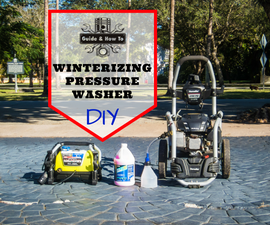 DIY - How to Winterize a Pressure Washer