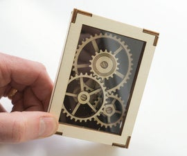 Laser Cut Display Gears