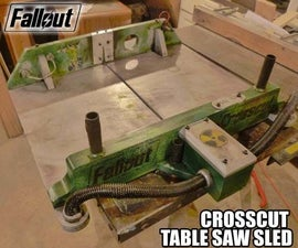 Fallout Crosscut Table Saw Sled