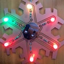 Blinky LED Snowflake