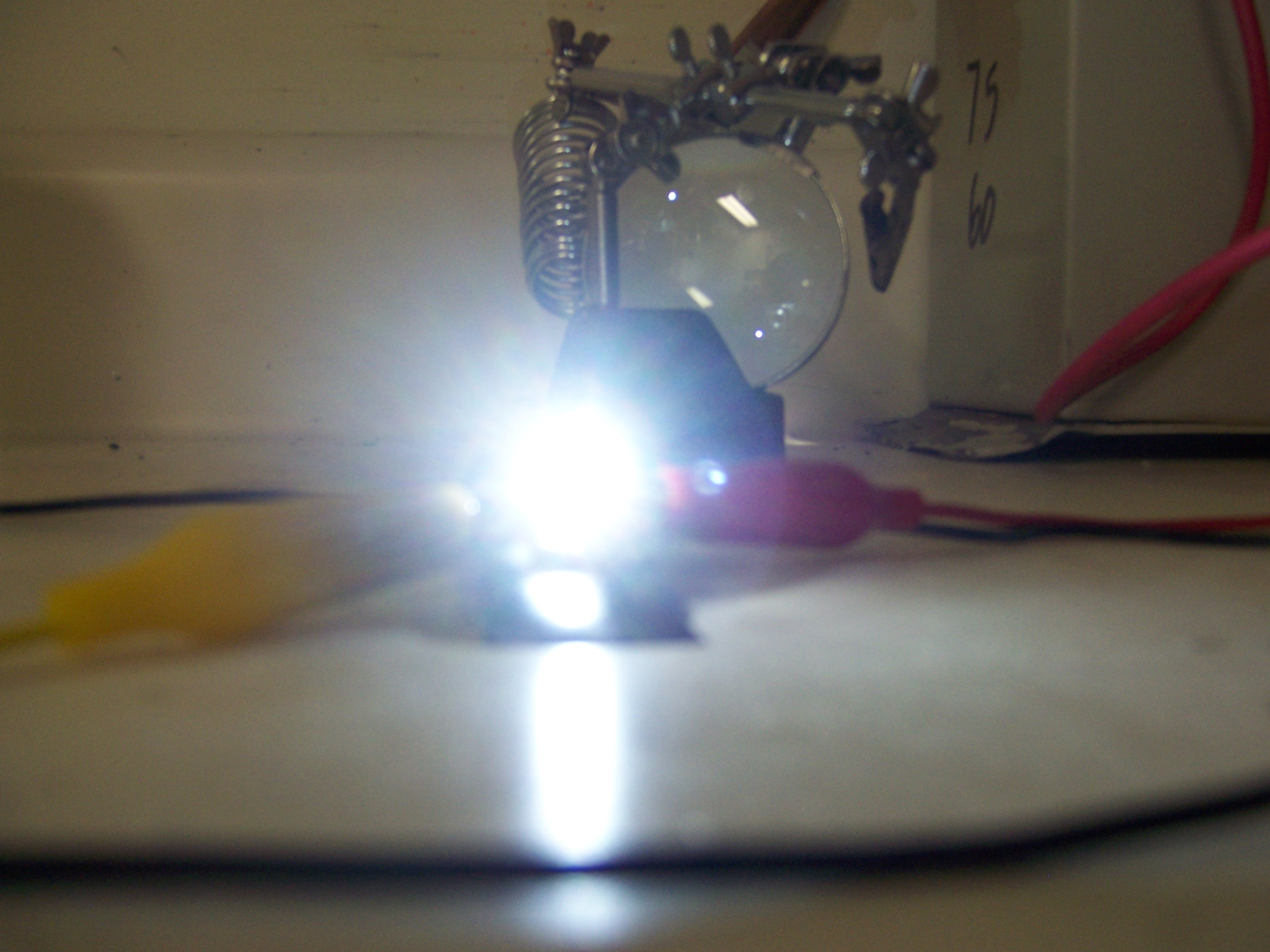 Picture of Mounting the LEDs