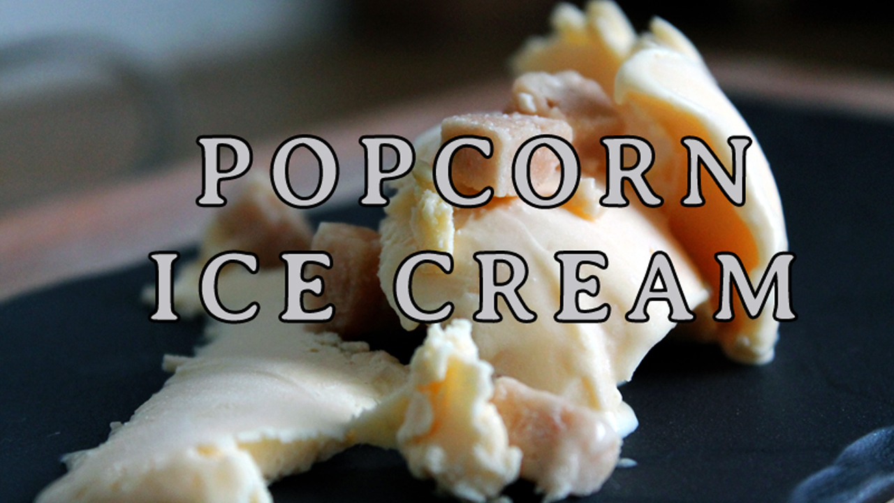 Picture of How to Make Popcorn Ice Cream