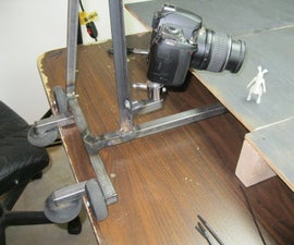 Stop Motion Camera Dolly From Re-purposed Parts
