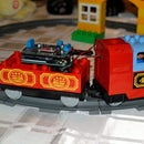 Arduino-controlled, Noise-activated Duplo Trainset