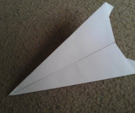 How To Make The Vector Paper Airplane