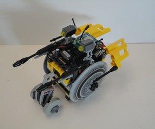 R/C LEGO 'Velocipede' Droid