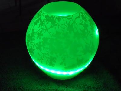 RGB Led Lamp With IR Control