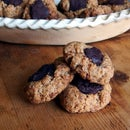 Paleo Almond Joy Thumbprint Cookies
