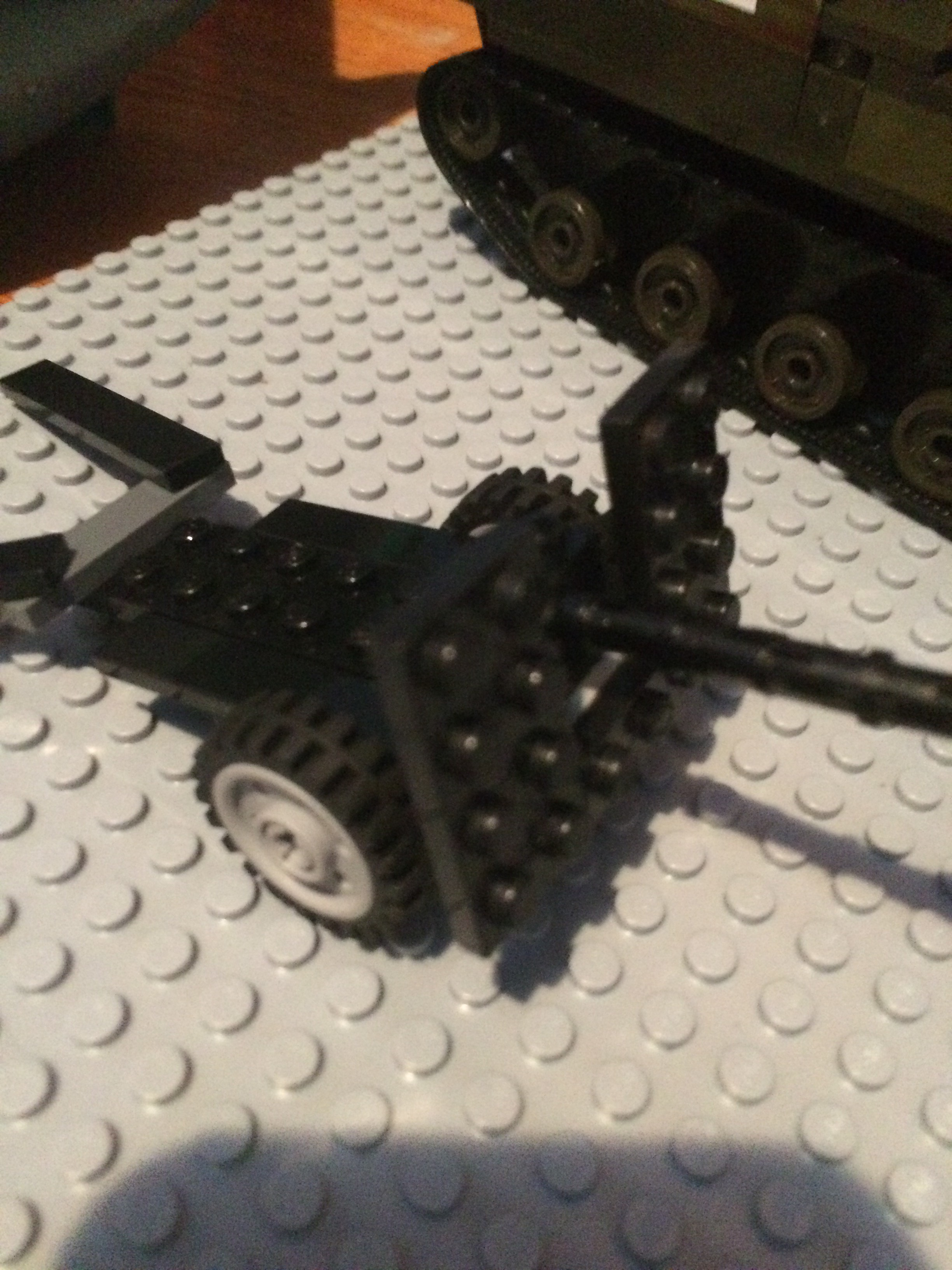 Picture of Lego Military Field Gun