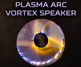 Plasma Arc Vortex Speaker